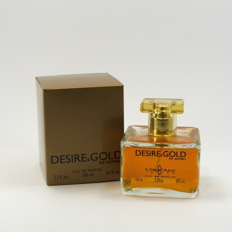 Desire&Gold - woda perfumowana