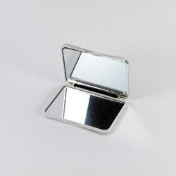 Lusterko dwustronne kompaktowe prostokątne